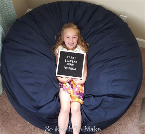 these 18 diy bean bag chairs will take the family s