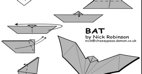 Origami Bat Andrea by Origami Origami Part 2 Caskets And