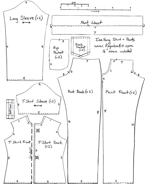 Template For Sewing by Let S Go D I Y Let S Get Started