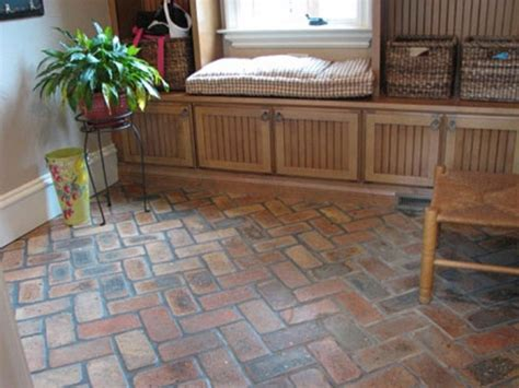 Faux Brick Flooring Finish ? Loccie Better Homes Gardens Ideas