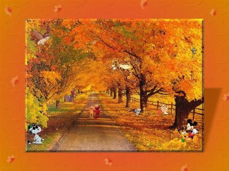 Animated Autumn Wallpaper - animated autumn mind teasers abstract background