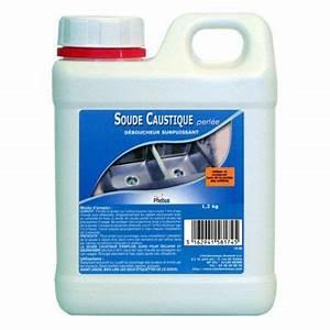 Soude caustique pour déboucheur 1,2kg CASTORAMA