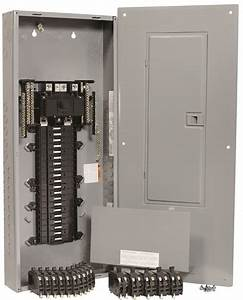 Square D Qwikpak Qp40200 Panelboard  120  240 Vac  200 A
