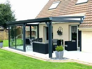 Veranda Rideau Pergola : veranda en kit chez leroy merlin veranda ~ Melissatoandfro.com Idées de Décoration