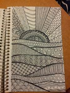 Different Zentangle Patterns