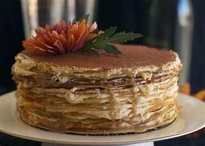 Tiramisu Crepe Cake - 10th Kitchen