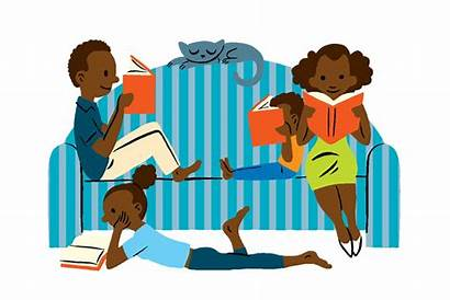 Books Clipart Reading Cartoon Reader Read Clip