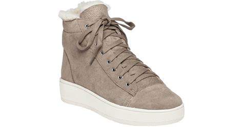 J/slides Jasper Taupe Suede Lace-up Sneaker In Natural