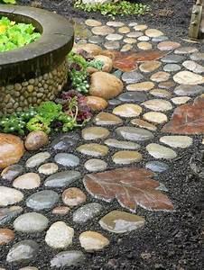 Garten Dekorieren Mit Steinen : garten deko zum basteln 40 sch ne bilder ~ Lizthompson.info Haus und Dekorationen