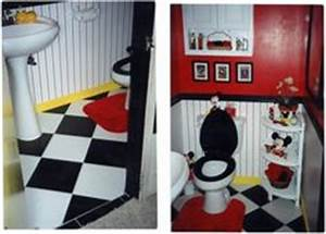 mickey mouse bathroom mickey mouse and mice on pinterest With kitchen colors with white cabinets with mickey mouse clubhouse stickers