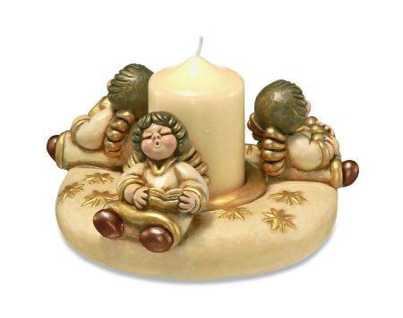 candele afrodisiache portacandela thun con tre angeli the house of