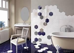 Carrelage Mural Hexagonal : g r lmemi banyo ve mutfak fayanslar ~ Carolinahurricanesstore.com Idées de Décoration