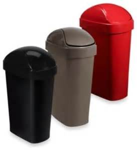 umbra flippa trash can contemporary trash cans by