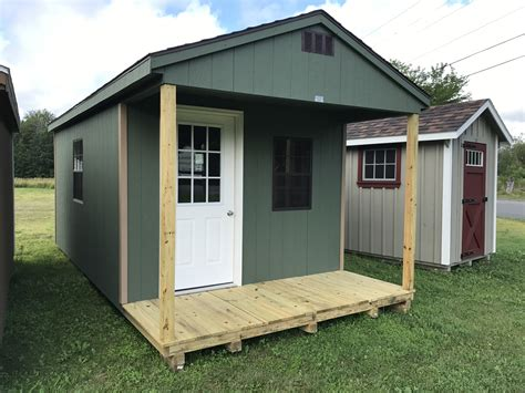 storage sheds garages camps horse barns hill view mini barns