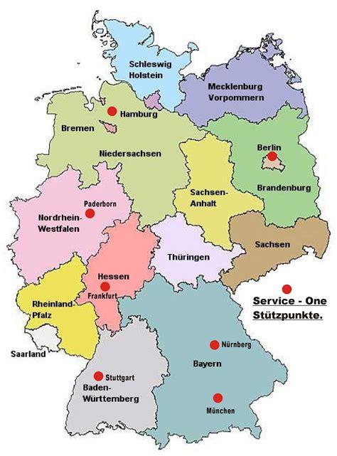 Bundesländer Deutschland Karte