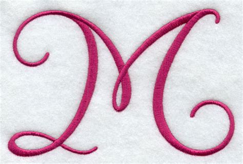 fancy letter m designs machine embroidery designs at embroidery library