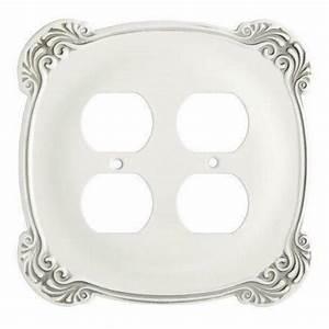 Franklin Brass 144396 Arboresque Double Duplex Wall Plate
