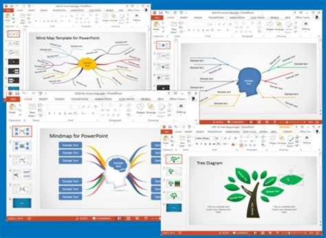 mappa concettuale modelli  powerpoint