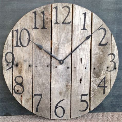 25 unique wooden clock plans best 25 large decorative wall clocks ideas on