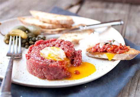 tartare cuisine steak tartare at home so easy macheesmo