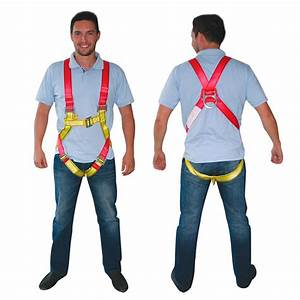 Lalizas Vestype Safety Harness Yellow Buy And Offers On