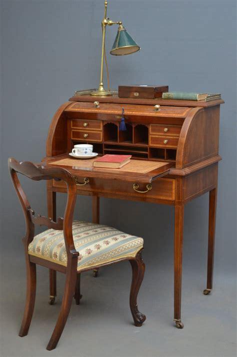 bureau writing desk edwardian bureau writing desk antiques atlas