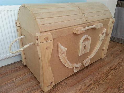 wooden pirate treasure chest diy wooden pirate treasure