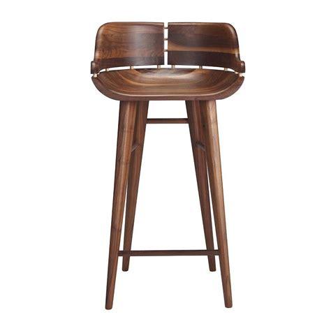 walnut counter stools organic modernism kurf bar stool modern bar stools for 3337