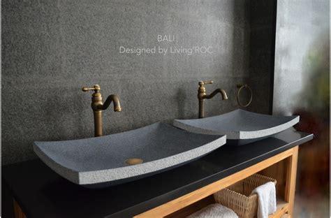 60x40 vasque 224 poser en granit v 233 ritable bali
