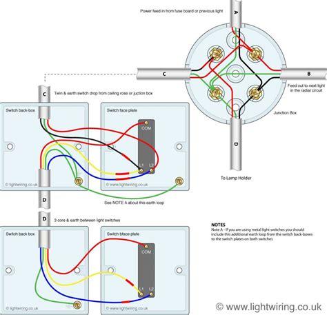 Way Lighting Circuit Diagram Light Wiring