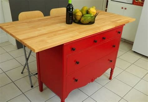 diy kitchen island from dresser diy kitchen island 5 you can make bob vila 8762