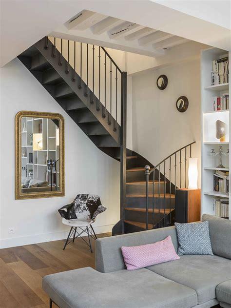 escalier interieur appartement duplex triplex