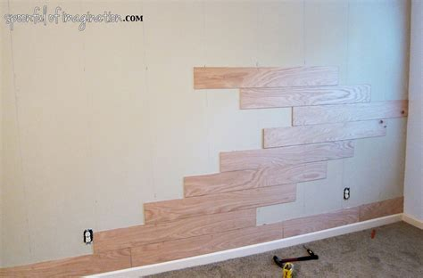 wall planks diy plank wall spoonful of imagination