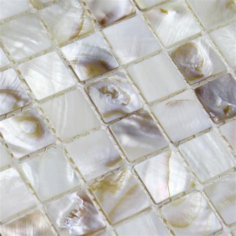 shell tiles  natural seashell mosaic mother  pearl