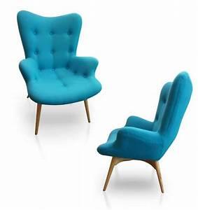 Fauteuil Bleu Turquoise : fauteuil vintage turquoise d co salon salle manger pinterest vintage turquoise et bleu ~ Teatrodelosmanantiales.com Idées de Décoration