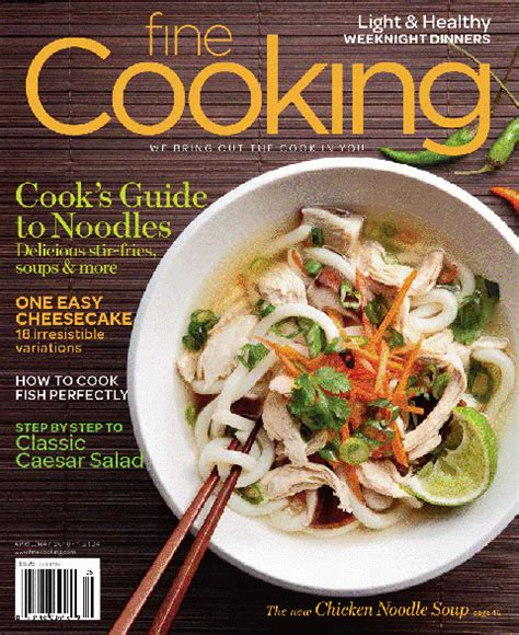 mag cuisine seen popular food magazines in the