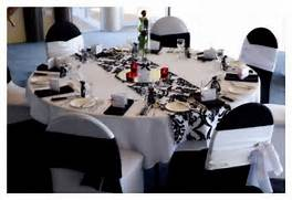 Table Decorations Black And White Theme Black And White Themes And Ideas Adelaide 39 S Wedding Decoration