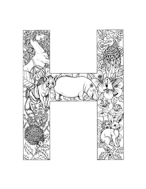 letter  coloring pages getcoloringpagescom
