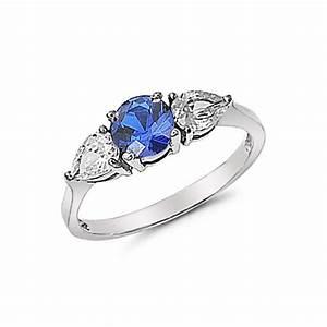 blue stone engagement rings wwwimgkidcom the image With blue stone wedding rings