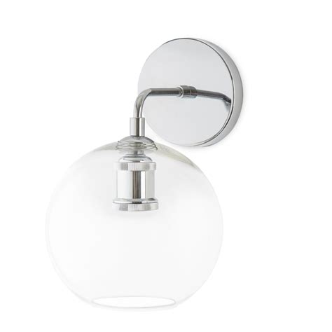lights wall lights hoyt wall sconce with clear