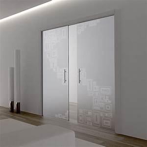 Prix Porte Galandage : ch ssis pour porte coulissante galandage deux vantaux ~ Premium-room.com Idées de Décoration