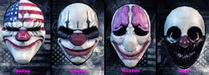 Payday 2 Halloween Masks Unlock by Steam Community Guide Payday 2 Overview Of Loot