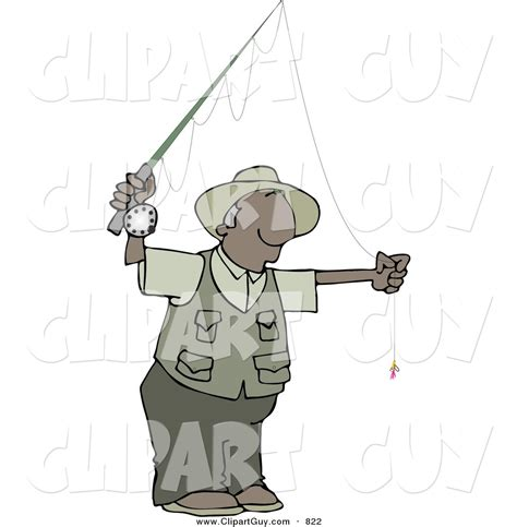 foto de Royalty Free Sport Fishing Stock Guy Designs