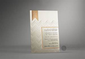 chevron wedding invitations o staccato With truly elegant wedding invitations
