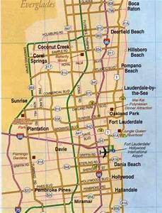 Map Of Broward County - HolidayMapQ.com