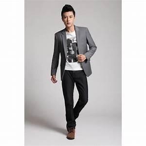 Style Classe Homme : blazer pour homme veste de costume beige ou gris ~ Melissatoandfro.com Idées de Décoration