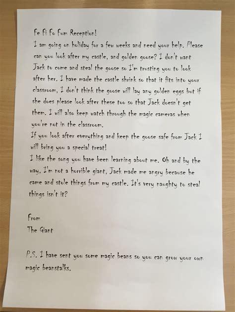 letter   children   giant  jack