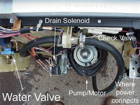 dishwasher  draining ge dishwasher  draining  water