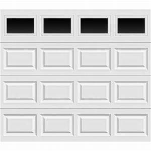 clopay premium series 8 ft x 7 ft 65 r value insulated With 15 x 7 garage door