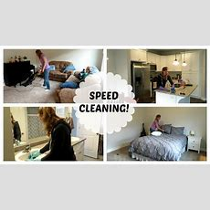 Speed Cleaning The New House!  Motivational Cleaning
